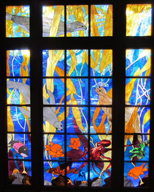 Stained glass windows and repairs repair cracks for Art glass windows and doors